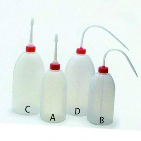 Wash Up Bottle - Plastic - 500ml curved nozzle