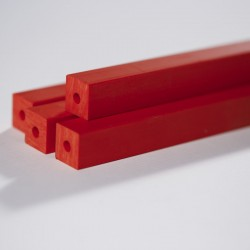 PVC Red - Secciones Cuadradas