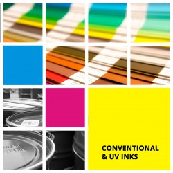 CONVENTIONAL & UV INKS