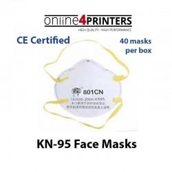 KN-95 801 CN FACE MASKS 40 masks/box