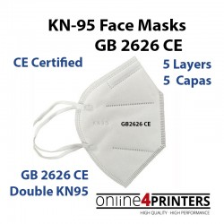 KN-95 GB2626 REUSABLE FACE MASKS