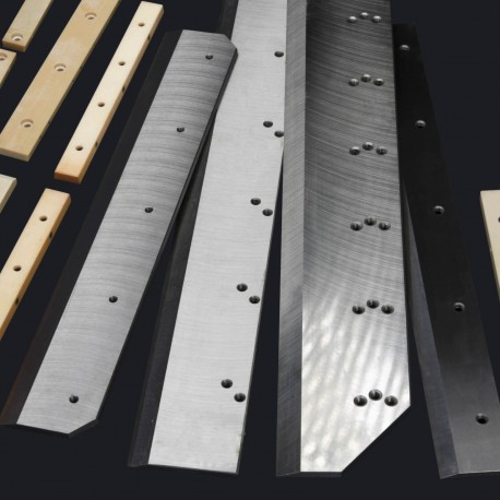 Paper Cutting Knive -  Muller Martini DS 361 Prima 390/370 Bravo 380/0400 TOP L and R - HSS
