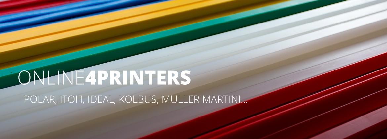 Polar, Itoh, Ideal, Kolbus, Muller Martini...